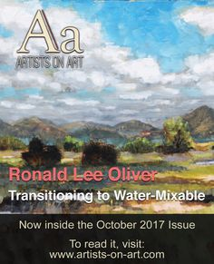 "My article is published in ""Artists on Art"" Magazine."