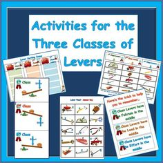 Everything you need to know about levers is presented in this activity booklet. When teaching about Simple Machines, levers are usually taught first... $ #science