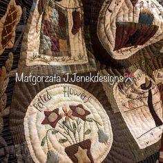 Mary s Farmhouse wall hanging quilt by MJJenek от MJJenekdesigns