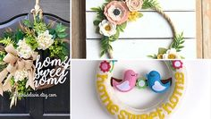 Take a look at this new collection of handmade decor featuring 17 Creative Handmade Spring Wreath Designs That Will Refresh Your Front Door. Enjoy!