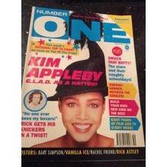 Number One Magazine - 1991 09/02/91 (Kim Appleby Cover)