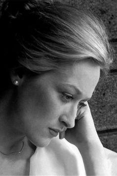 Meryl Streep- one of my favorite actresses.
