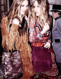 Florence Kosky and Ella Richards for Burberry: See all the best campaigns from fall 2015.