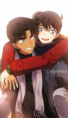 Anime Classroom, Heiji Hattori, Magic For Kids, Detective Conan Wallpapers, Detektif Conan, Draw The Squad, Human Drawing, Magic Kaito, Case Closed