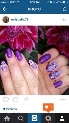 Cupcake polish berry good looking stamping plate MJ28 mdu stamping polish lilac