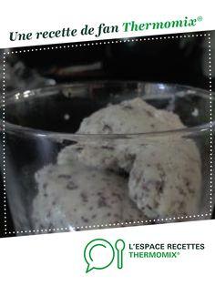 Glace menthe/chocolat maison par Cocha. Une recette de fan à retrouver dans la catégorie Desserts & Confiseries sur www.espace-recettes.fr, de Thermomix<sup>®</sup>.