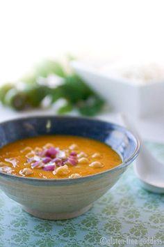 Mulligatawny Soup with Jasmine Rice - Gluten-Free Recipes | Gluten-Free Goddess