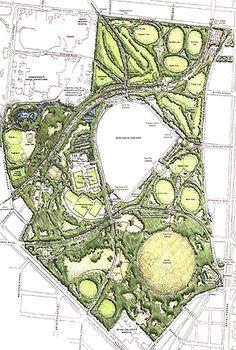 Coursework lancre park design