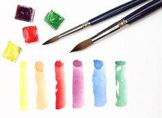 Watercolour Brush Marks by BobDavies