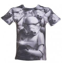 Men's #StarWars #Stormtrooper Sublimation Print T-Shirt xoxo