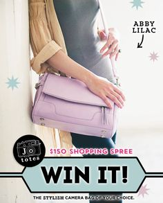 Camera Bag GIVEAWAY: Jo Totes $150 Shopping Spree!