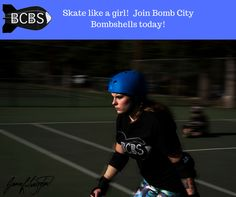 Skate like a girl!  Join us today.  Call 806-414-7847 for details.