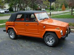 vw thing :: Used to cruise around in a blue & white one once upon a time