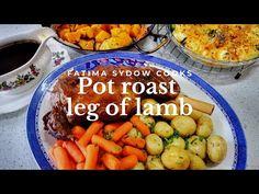 Lamb Recipes, Real Food Recipes, Cooking Recipes, Roast Lamb Leg, Pot Roast, My Cookbook, Main Meals, Meat, Ethnic Recipes