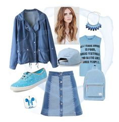 """светлый нюанс"" by fashionmaven33 on Polyvore featuring мода, House of Holland, Keds, Chicnova Fashion, Topshop, PhunkeeTree и Lakai"