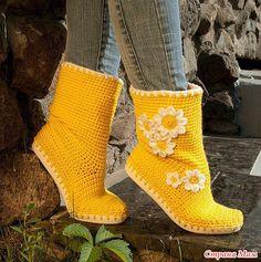 Idei și master-class de pe pantofi de tricotat .. Discuții pe LiveInternet - Serviciul rus Diaries online