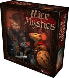 In Mice & Mystics players take on the roles of those still loyal to the king - but to escape the clutches of Vanestra, they have been turned into mice! Play as