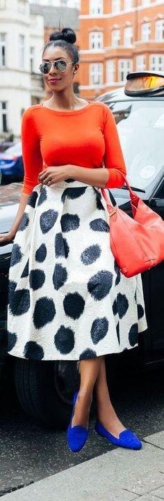 The Social Skirt / Fashion by Marisha