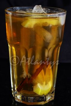 Terapia do Tacho: Ice tea caseiro (Homemade ice tea)