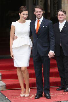 Félix de Luxemburgo y Claire Lademacher se dan su primer 'sí, quiero' en una íntima ceremonia civil