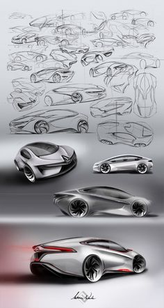 research sketching in DESIGN THE 2020 AMPERA: