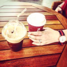 The new costa coffee!! #costacoffee#coffee#fredo#relaxncoffee