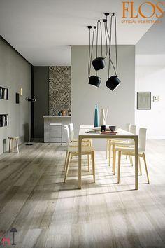 Imitation parquet floor tiles - ideas for the modern interior - ftille Parquet Flooring, Kitchen Flooring, Room Interior Design, Furniture Design, Marazzi Tile, Tapis Design, Wood Look Tile, Wood Tiles, Design Your Home