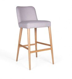 Mary is a charming collection with an elegant curved back to offer maximum comfort. It consists of a bar stool and a chair either with wooden legs or a steel base. Bar Stools, Elegant, Furniture, Home Decor, Chair, Dapper Gentleman, Homemade Home Decor, Bar Stool, Home Furnishings