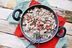 Przepis na: tagliatelle z sosem kalafiorowym - justa kitchen