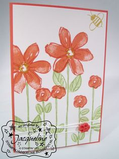 Stampin' Up! by Stampin Jacqueline: Garden in Bloom, deel 2