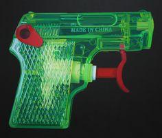 green_red_pistol