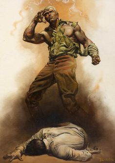 Doc Savage: The Boss of Terror cover art by Boris