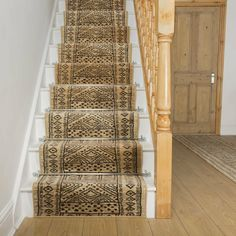 Bloomsbury Market Bansil Tufted Black Stair Runner & Reviews | Wayfair.co.uk Beige, Taupe, Indoor Outdoor Carpet, Carpet Size, Quality Carpets, Terracota, Berber Carpet, Carpet Stairs, Carpet Runner On Stairs