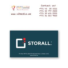 Sample Business Card Printing For Tafaseel Technical Works Llc For