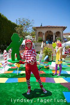 Candyland-Party - BK 5th Birthday?
