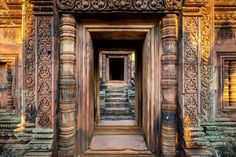 Banteay Srei - Angkor by Hubert_photographie on 500px