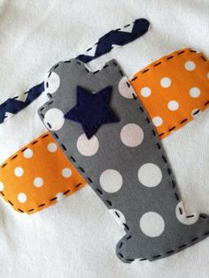 Boys Airplane Mixed Fabric Appliqué Carters by HarpersCreation, $18.00