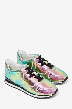 Iggy Azalea x Steve Madden Rundown Leather Sneaker