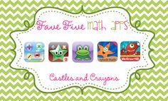 Fave Five Math Apps