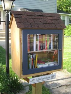 My new project: Little Free Library
