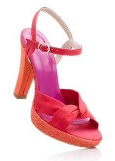 #coloblock #sandals #bonprix
