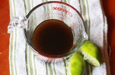 Looking for new salad dressings, Paltrow's Balsamic & Lime Vinaigrette looks promising. Lime Salad Dressing, Salad With Balsamic Dressing, Lime Vinaigrette, Soup And Sandwich, Yummy Food, Yummy Recipes, Different Recipes, Soup And Salad, Sauces