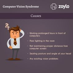 causes of computer vision syndrome health and social care essay Combat computer vision syndrome  during your eye exam, your eye doctor can check for more than just computer vision problems she'll look for signs of health conditions like diabetes, high cholesterol, high blood pressure, glaucoma, and macular degeneration it's an important part of your overall health routine.