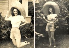 Q's Daydream: Inspiration Friday, New Orleans & Vintage Street Fashion, 1940s Fashion, Ufo, New Orleans Fashion, Hollywood Boulevard, Vintage Wardrobe, Vintage Inspired Outfits, My Photos, 1940s Photos