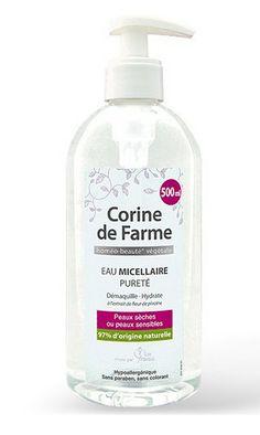 Eau Micellaire Pureté - Démaquille et Hydrate Corine de Farme vu dans la presse à retrouver sur Selectionnist.com