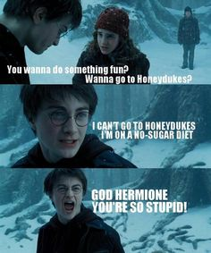 haha  HP and Mean Girls