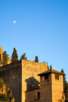 Alcazaba de Málaga. Malaga City, Roman Theatre, Malaga Spain, The Siege, 1st Century, Fortification, North Africa, Entrance, Medieval