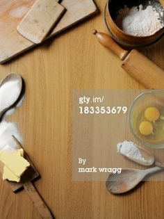 Copy Space for Baking : Stock Photo