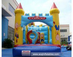 cailou castle [AQ561cailou]#inflatableCastles www.aoqiinflatables.com