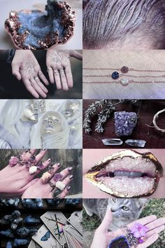 druzy witch aesthetic